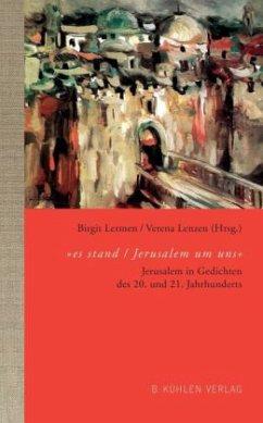 ´´es stand / Jerusalem um uns´´