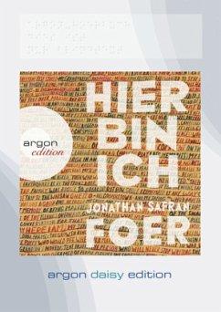 Hier bin ich (DAISY Edition), 1 MP3-CD - Foer, Jonathan Safran