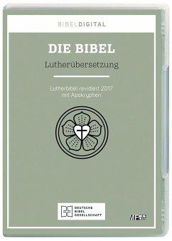 Die Bibel, Lutherübersetzung revidiert 2017, 1 CD-ROM