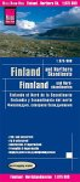 Reise Know-How Landkarte Finnland und Nordskandinavien (1:875.000); Finland & Northern Scandinavia / Finlande et nord de
