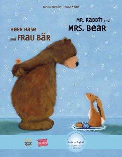Herr Hase & Frau Bär. Kinderbuch Deutsch-Englisch - Kempter, Christa; Weldin, Frauke