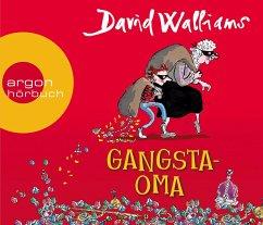 Gangsta-Oma, 3 Audio-CDs - Walliams, David