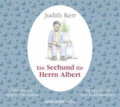 Ein Seehund für Herrn Albert, 1 Audio-CD - Kerr, Judith