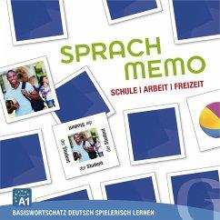 Sprachmemo Deutsch, Schule, Arbeit, Freizeit (S...