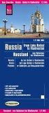 Reise Know-How Landkarte Russland - vom Baikalsee bis Wladiwostok (1:2.000.000). Russia, From Lake Baikal to Vladivostok / Russie, du Lac Baikal à Vladivostok / Rusia, del Lago Baikal a Vladivostok