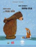Herr Hase & Frau Bär. Kinderbuch Deutsch-Spanisch