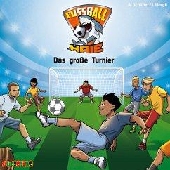 Das große Turnier / Fußball-Haie Bd.2 (MP3-Download) - Schlüter, Andreas; Margil, Irene