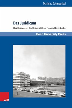 Das Juridicum (eBook, PDF) - Schmoeckel, Mathias