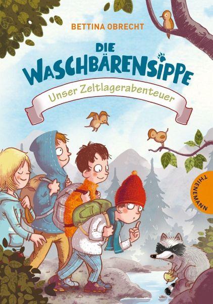 Buch-Reihe Die Waschbärensippe