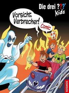 Vorsicht, Verbrecher! / Die drei Fragezeichen-Kids Comic Bd.2