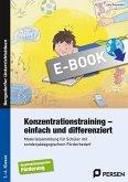 Konzentrationstraining - einfach und differenziert (eBook, PDF)