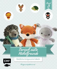 Tierisch süße Häkelfreunde Band 3 - Amigurumipattern
