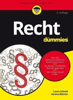 Recht für Dummies - Schnall, Laura; Böttner, Verena