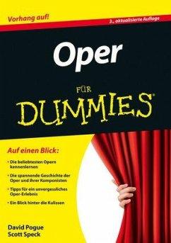 Oper für Dummies - Pogue, David; Speck, Scott