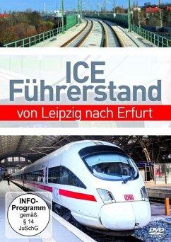 ICE Führerstand von Leipzig nach Erfurt