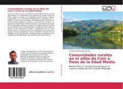 Comunidades rurales en el alfoz de Coín a fines de la Edad Media