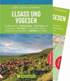 Zeit zum Wandern Elsass und Vogesen - Kröll, Rainer D.