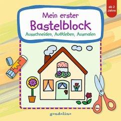 Mein erster Bastelblock (Haus)