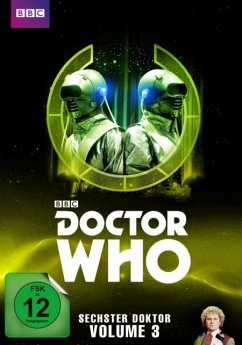 Doctor Who - Sechster Doktor - Vol. 3 DVD-Box - Baker,Colin/Bryant,Nicola/Langford,Bonnie/+