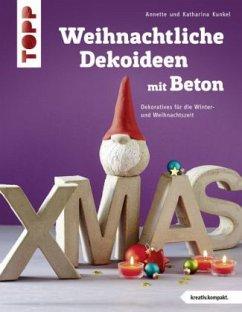 Weihnachtliche Dekoideen mit Beton (kreativ.kom...
