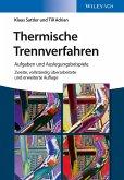 Thermische Trennverfahren (eBook, PDF)