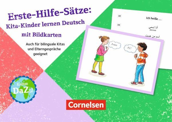 erste hilfe s tze kita kinder lernen deutsch mit bildkarten fachbuch. Black Bedroom Furniture Sets. Home Design Ideas