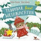 Teddybär feiert Weihnachten