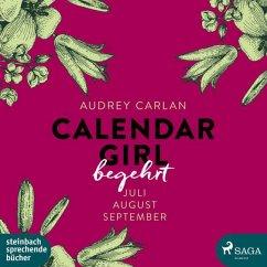 Begehrt / Calendar Girl Bd.3 (MP3-CD) - Carlan, Audrey