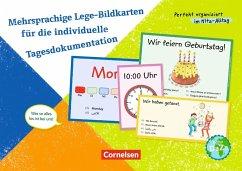 Mehrsprachige Lege-Bildkarten für die individue...