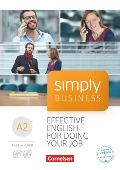 Simply Business A2+ - Coursebook mit Audio-CD und Video-DVD - Lloyd, Angela