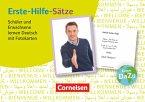 Erste-Hilfe-Sätze: Schüler und Erwachsene lernen Deutsch mit Fotokarten