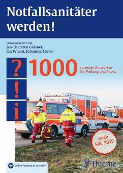 Notfallsanitäter werden! (eBook, PDF)