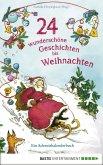 24 wunderschöne Geschichten bis Weihnachten - Ein Adventskalenderbuch (eBook, ePUB)