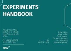 Experiments Handbook (eBook, ePUB) - Ullrich, Britta; Wagner, Sarah; Schütt, Anne; Cuckson, Stephanie; Grünewald, Cord; Obendorf, Hartmut