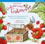 Erdbeerinchen Erdbeerfee. Spaghetti im Erdbeergarten und andere Vorlesegeschichten, 1 Audio-CD