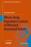 Whole-Body Impedance Control of Wheeled Humanoid Robots