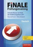 FiNALE Prüfungstraining Zentrale Klausuren am Ende der Einführungsphase Nordrhein-Westfalen