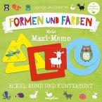 Formen und Farben - Mein Maxi-Memo (Kinderspiel)