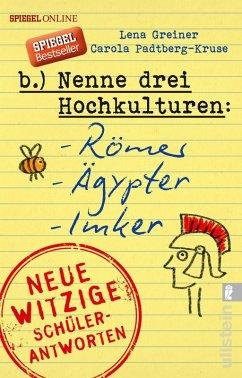 Nenne drei Hochkulturen: Römer, Ägypter, Imker (eBook, ePUB) - Greiner, Lena; Padtberg, Carola
