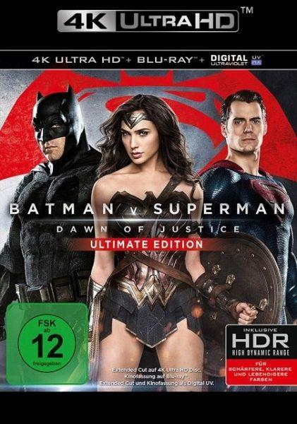 Batman v Superman: Dawn of Justice (4K Ultra HD, 2 Discs)