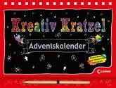 Kreativ-Kratzel-Adventskalender