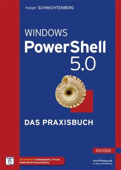 Windows PowerShell 5.0 (eBook, PDF) - Schwichtenberg, Holger