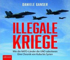 Illegale Kriege, 4 MP3-CDs - Ganser, Daniele