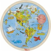 Auf Weltreise Peggy Diggledey (Holzpuzzle)