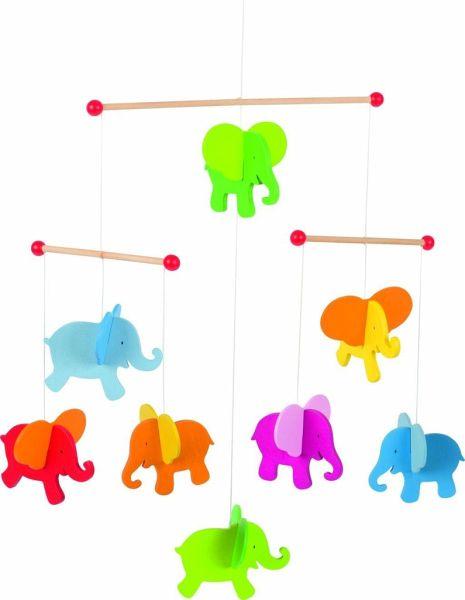 Dreidimensional Baby-Mund Handtuch Kinderbabynahrung Bowl wasserdichte Abdeckung-Blue Elephant