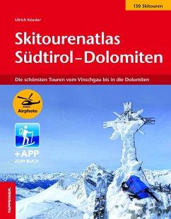 Skitourenatlas Südtirol-Dolomiten