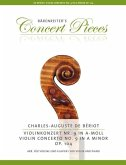 Violinkonzert Nr.9, Klavierauszug, Stimmen