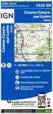 IGN Karte, Serie Bleue Cosne Cours sur Loire