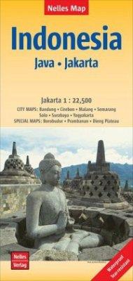 Nelles Map Landkarte Indonesia : Java, Jakarta