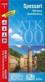 Amtliche Topographische Karte Bayern Spessart